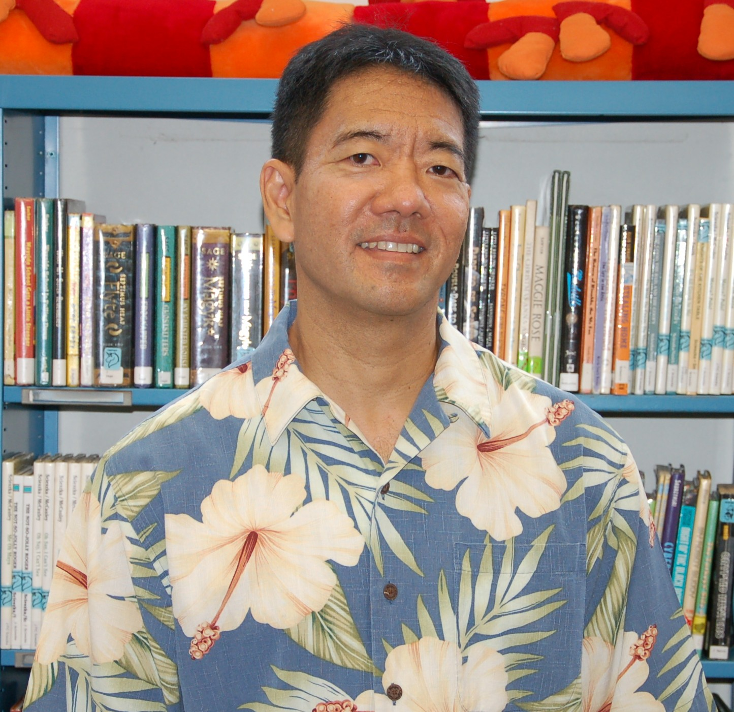 Curt Fukumoto is 2010 HSPLS Employee of the Year. Photo by Paul H. Mark.