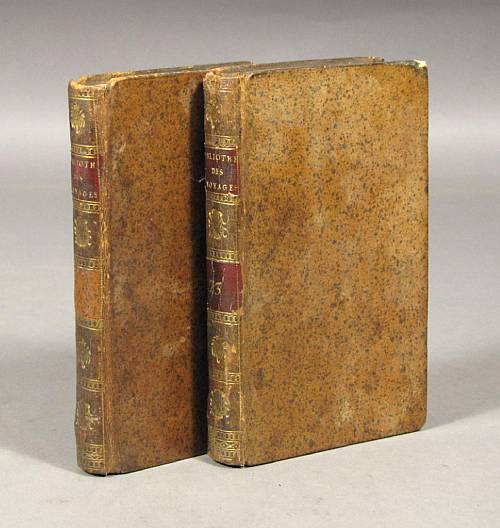 Cook's Atlases, Second and Third Voyages, Lot No. 4019. Photo courtesy Bonhams.com.