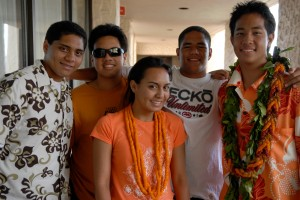 Isaiah, Zach, Brolin, Max, and Ka'ai from 'One Voice.' Courtesy photo.