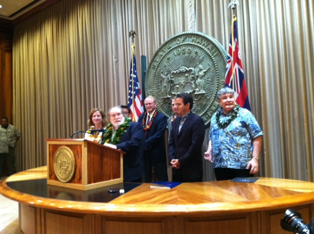 Hawaii NASA Press Conference | Photo by Burt Lum