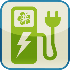 Hawaii EV Stations App Icon